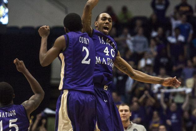 James Madison Beats Northeastern to Claim NCAA Berth