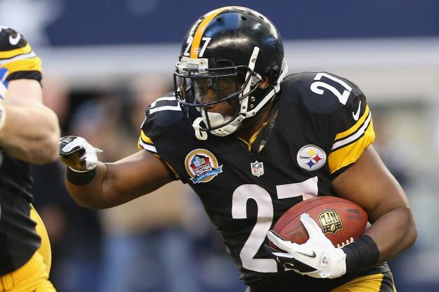 Report: Steelers RB Jonathan Dwyer Waste No Time Signing His Restricted Tender