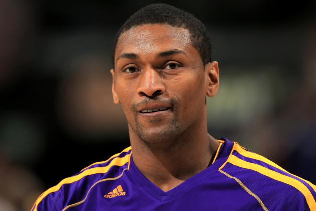 5 Strangest Moments in L.A. Lakers' Metta World Peace's Career