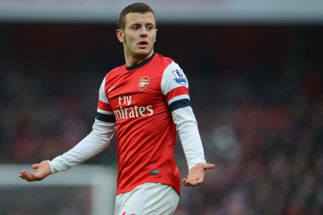 Jack Wilshere Injury: Updates on Arsenal Star's Ankle