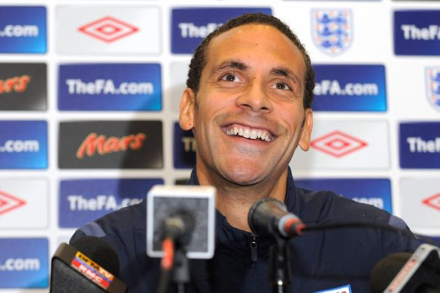 Why Rio Ferdinand Should Be in Roy Hodgson's Next England Squad
