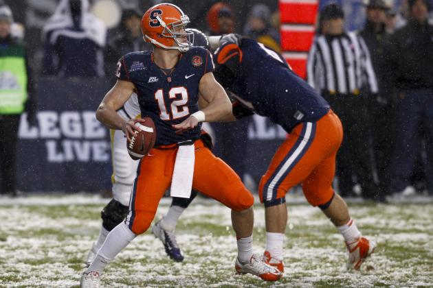 Should the New York Jets Draft Syracuse QB Ryan Nassib?