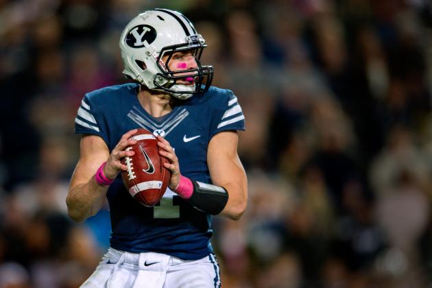 BYU Football: So Far, Only QB Battle Is to Be Taysom Hill's Backup