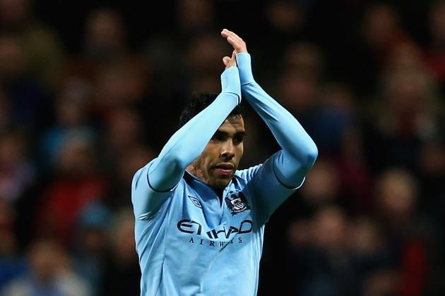 Carlos Tevez: Breaking Down His Stats for Manchester City This Season
