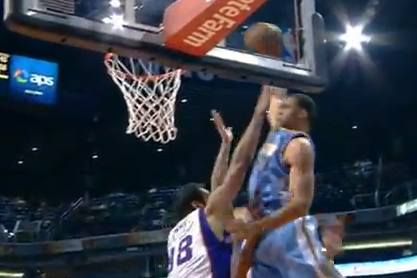 JaVale McGee Posterizes Hamed Haddadi on an Alley-Oop