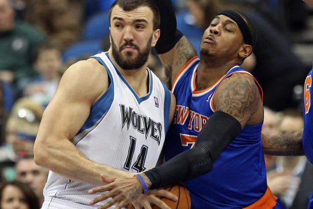 Nikola Pekovic Hopes to Step Up Workouts