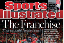 Chicago Blackhawks on Cover of This Week's Sports Illustrated