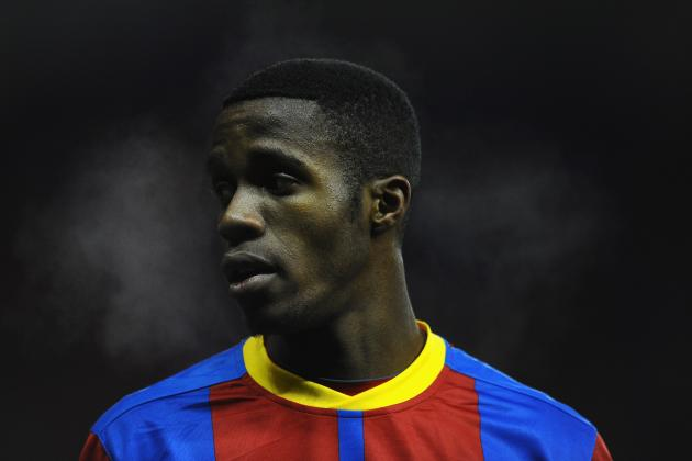 Zaha Gives Leeds Fans the Middle Finger After Abuse over Transfer to Man United