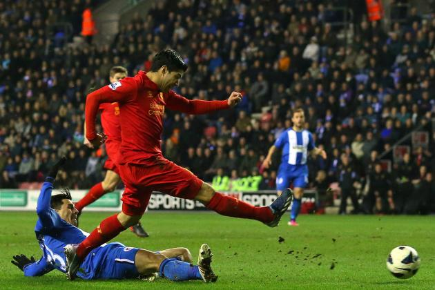 Video Wrap: All of Luis Suarez's First 50 Goals for Liverpool