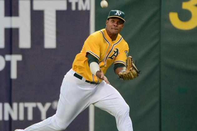 A's Outfielder Michael Taylor out with Freak Injury