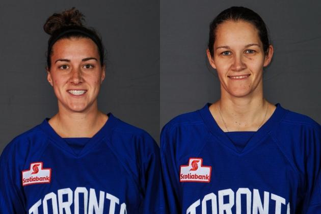 Remarkable Pair of Toronto Furies Players Audition for the Amazing Race