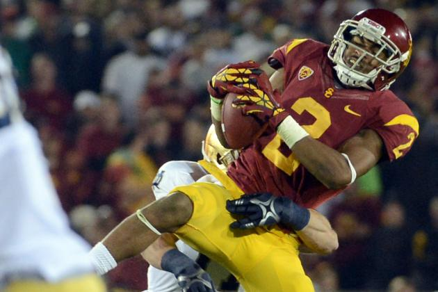 Lions Continue Pre-Draft Look at Receivers with USC's Robert Woods