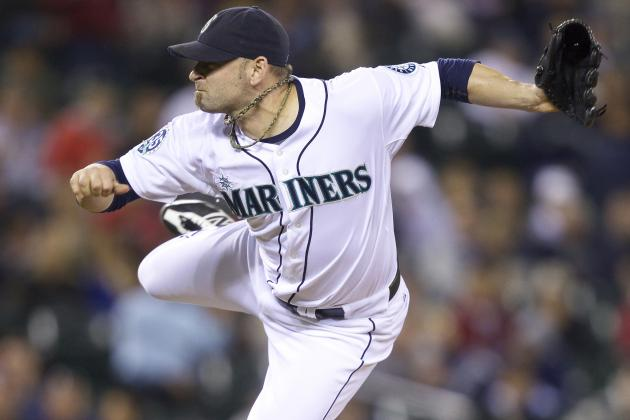 Mariners' RP Kinney Has No Clue How He Suffered Freak Injury