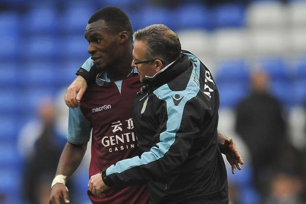 Aston Villa Boss Paul Lambert Delighted with Progress of Christian Benteke