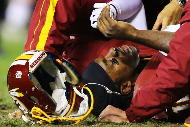 RG III Says Knee 'Good,' He'll Be OK to Play