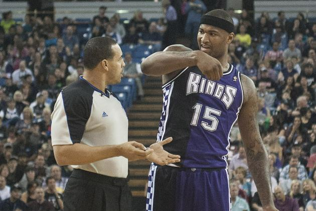 Sacramento Kings on DeMarcus Cousins' Ejection