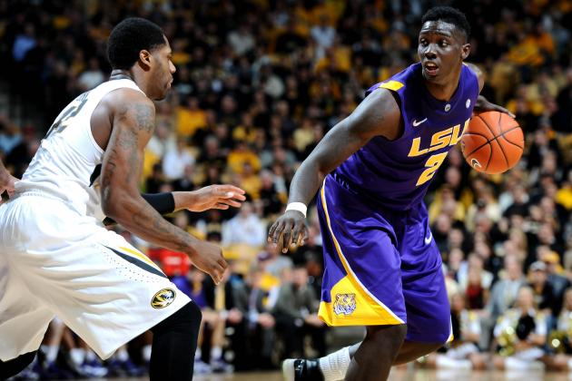LSU's Johnny O'Bryant, Anthony Hickey Land Spots on Coaches' All-SEC Units
