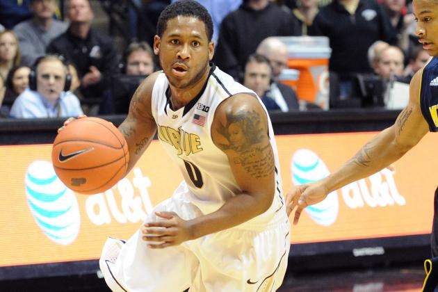 Big Ten Honors Four Purdue Men's Basketball Players