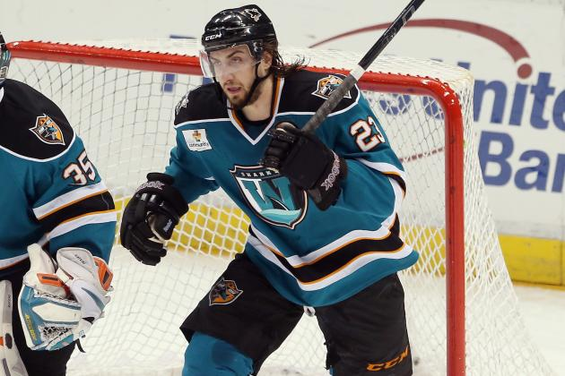 Sharks Reassign Right Wing Matt Pelech to Worcester