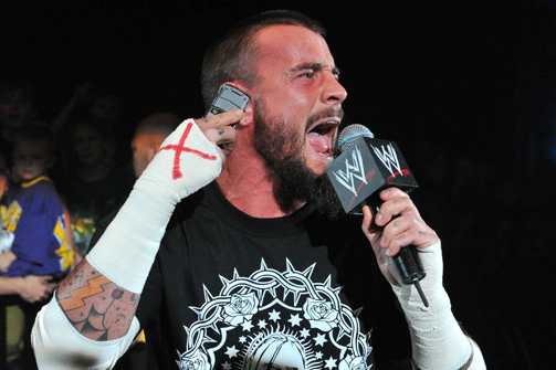 Report: CM Punk Might Be Working Injured