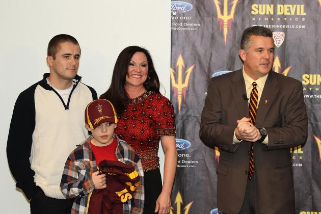 ASU Football: A New RBs Coach, a New Batman and Other Notes