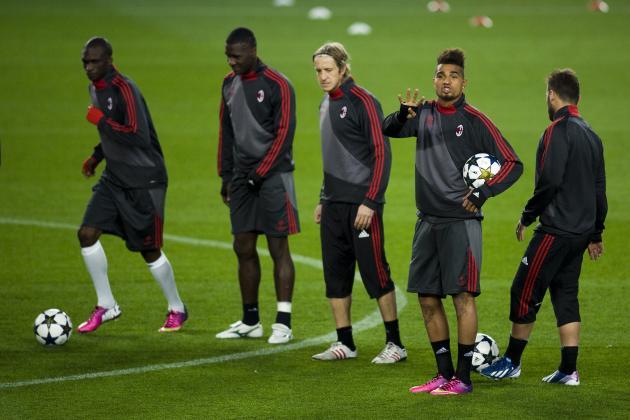 Milan Announces Starting XI for Barca Clash