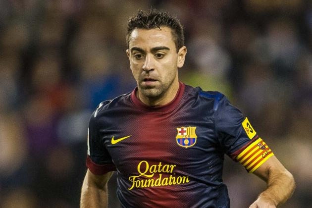 Xavi in Starting Lineup Tonight vs. AC Milan