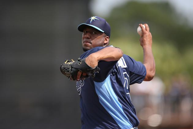 Rays' Roberto Hernandez Looking Like Same Old Pitcher Under New Name
