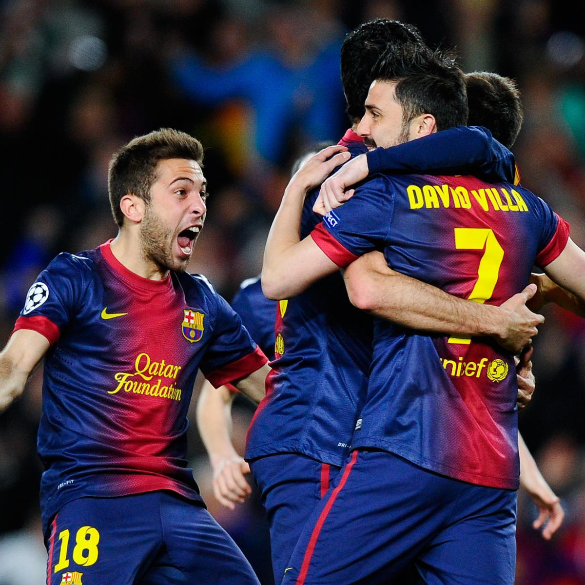 Liverpool V Barcelona Live Matchday Blog: Barcelona Vs. AC Milan: Live Score, Highlights And