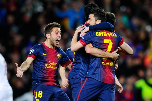Barcelona vs. AC Milan: Live Score, Highlights and Analysis