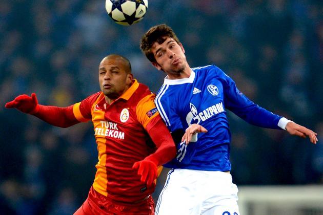 Schalke vs. Galatasaray: Champions League Live Score, Highlights and Recap