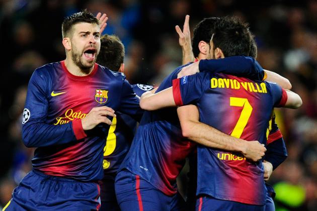 Barcelona 4-0 AC Milan: Live Score, Highlights, Recap