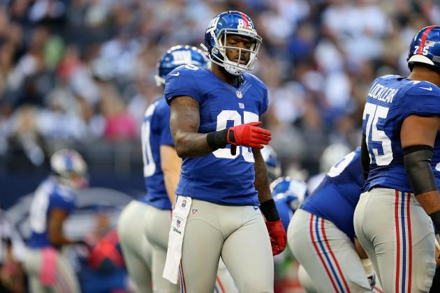 Report: Martellus Bennett Leaves Giants, Signs with Chicago Bears