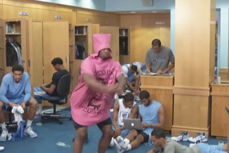 UNC Basketball Does the Harlem Shake
