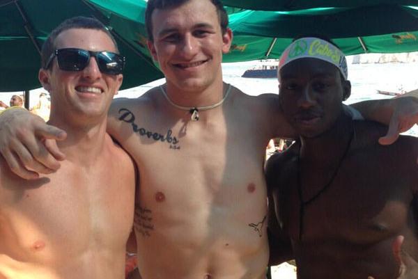 Johnny Manziel's Texas Longhorns Tattoo Starts Massive Forgery Debate