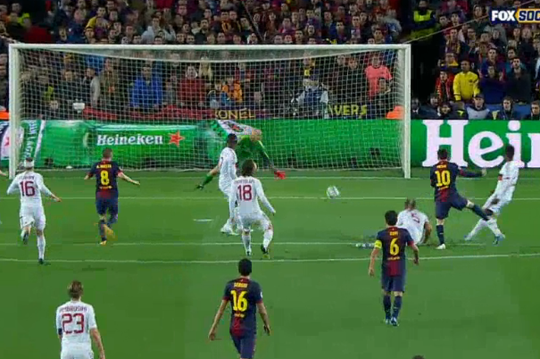 Messi Doubles Barcelonas Advantage