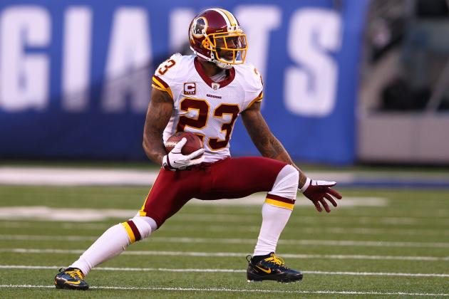 Report: New York Giants Interested in Former Redskins CB DeAngelo Hall