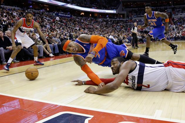 Which NY Knick Will Step Up to Aid Carmelo Anthony's Playoff Push?