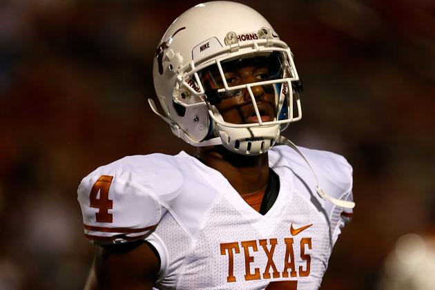 Texas WR Cayleb Jones Charged with Felony Assault