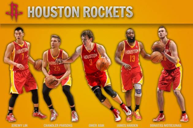 Examining Houston Rockets' Ideal Starting Lineup by the Numbers
