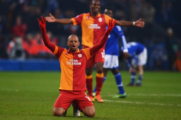 Schalke vs. Galatasaray: Could Turkish Side Be Dark Horses for Champions League?