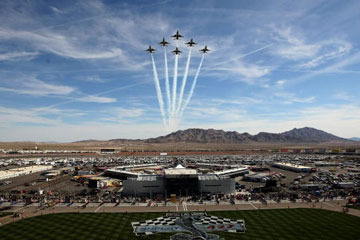 NASCAR News: Las Vegas Flyover Might Be the Last One We See for a While