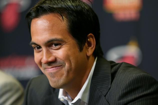 Erik Spoelstra Dating 24-Year-Old Former Heat Dancer Nikki Sapp