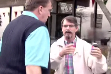 Undercover Jeff Gordon Takes Car Salesman on Test Drive