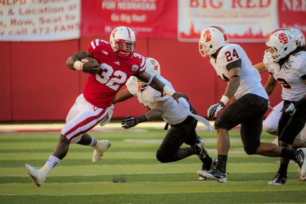 Nebraska's Imani Cross Fell into the Top RB Role, and He Might Not Give It Up