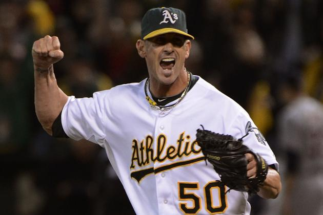Grant Balfour Faces Live Hitters for First Time Since Surgery