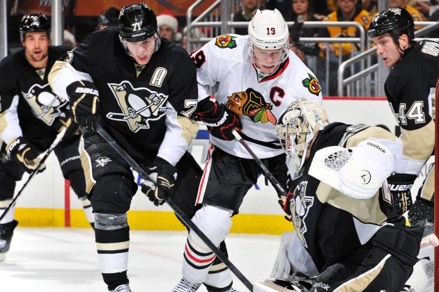 Toews and Kane vs. Crosby and Malkin: Which Duo Is More Valuable to Its Team?