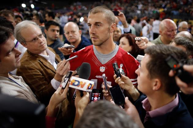 A Farewell to Alex Smith as a Member of the San Francisco 49ers