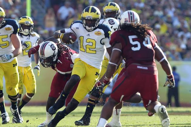 Michigan Football: Can Devin Gardner Break U-M's Single Season Passing Record?