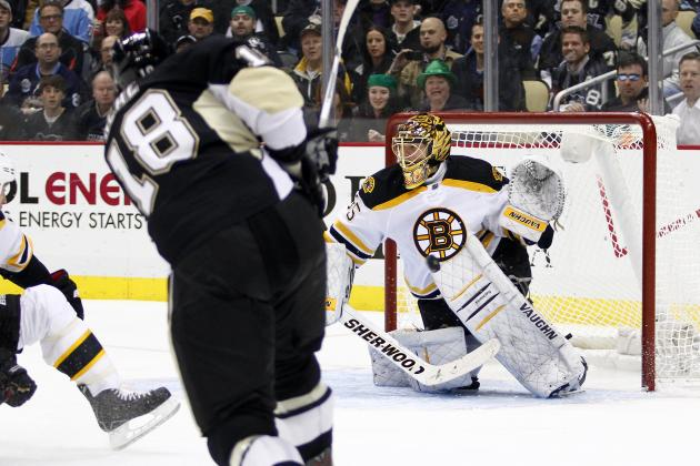 Boston Bruins Third Period Collapse Gives Pittsburgh Penguins 3-2 Victory